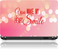 View The Print Cart You Make My Heart Smile Vinyl Laptop Decal 15.6 Laptop Accessories Price Online(The Print Cart)
