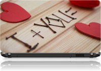 View The Print Cart Heart Sticks Love Recognition Vinyl Laptop Decal 15.6 Laptop Accessories Price Online(The Print Cart)