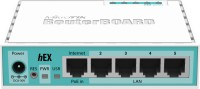 MikroTik Wired RB750GR3 with 5 Gigabit Lan Port Router(White)