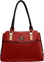 JFL-Jewellery For Less Women Red PU Shoulder Bag