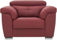 View Durian CHARLES/A/1 Leatherette 1 Seater(Finish Color - Burgandy) Furniture (Durian)