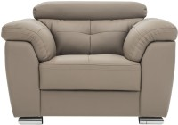View Durian CHARLES/1 Leatherette 1 Seater(Finish Color - Mocha Brown) Furniture (Durian)