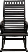 View DZYN Furnitures Solid Wood 1 Seater Rocking Chairs(Finish Color - Black) Furniture (DZYN Furnitures)