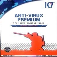 K7 Anti-virus 8.0 User 1 Year(Voucher)