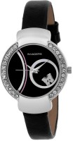 Invaders CUTE BLACK  Analog Watch For Girls