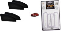 typhon Premium Quality Zipper Magnetic Car Curtain With Ipop Door Guard For Polo Combo