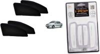Petrox Premium Quality Zipper Magnetic Car Curtain With Ipop Door Guard For Indigo Marina Combo