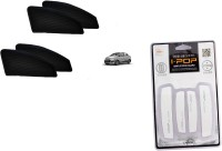 tYPHON Premium Quality Zipper Magnetic Car Curtain With Ipop Door Guard For Xcent Combo