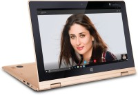 Iball Atom Quad Core - (2 GB/32 GB HDD/Windows 10) i360 2 in 1 Laptop(11.6 inch, Gold)