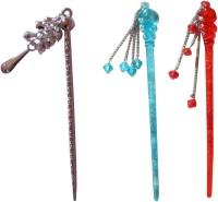 Yashasvi combo of juda sticks Bun Stick(Multicolor) - Price 420 79 % Off