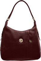 JFL-Jewellery For Less Women Maroon PU Shoulder Bag
