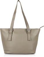 Leather Zentrum Hand-held Bag(Grey)