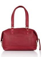 Leather Zentrum Hand-held Bag(Purple)
