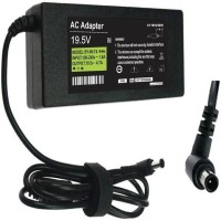 View Green Vaio PCG-GRS Series 90 W Adapter(Power Cord Included) Laptop Accessories Price Online(Green)