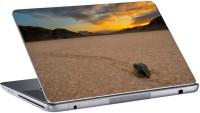 Gallery 83 Moving Stones Death Valley Evening Laptop Sticker 15.6 inch Vinyl Laptop Decal 15.6