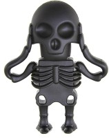 View Microware Human Skeleton 16 GB Pen Drive(Black)  Price Online