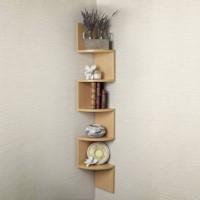 View india wooden handicraft Wooden Wall Shelf(Number of Shelves - 5) Furniture (India Wooden Handicrafts)