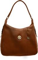 JFL-Jewellery For Less Women Brown Genuine Leather Shoulder Bag