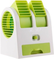View Jeeya Bladeless High Quality Mini Air Condition Cooling AC150 USB Fan Multicolor (Pack of 1) HY-168 USB Fan(Multicolor) Laptop Accessories Price Online(Jeeya)