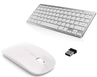 View ROQ Slim Wireless Keyboard with Wireless Mouse Combo Set Laptop Accessories Price Online(ROQ)