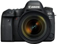 Canon EOS 6D Mark II DSLR Camera Body with Single Lens: EF 24-70mm f/4L IS USM(Black)