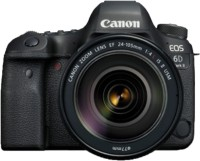 Canon EOS 6D Mark II DSLR Camera Body with Single Lens: EF24-105mm f/4L IS II USM(Black)