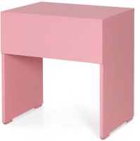 View jfa Daffy Kids Study Table Engineered Wood Study Table(Finish Color - Pink) Furniture (JFA)