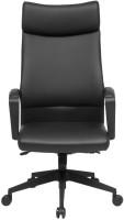 View ZENNOIIR Office Chairs Leatherette Office Arm Chair(Black) Furniture (ZENNOIIR)