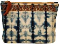 Clean Planet Handcrafted Shibori Pouch – Indigo Blue Pouch(Blue)