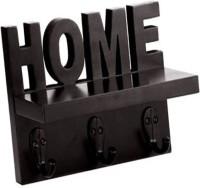 View Artesia Home Key Holder Wooden Wall Shelf(Number of Shelves - 1, Brown) Furniture (Artesia)