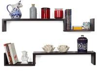 View Artesia Cooper Wooden Wall Shelf(Number of Shelves - 2, Brown) Furniture (Artesia)