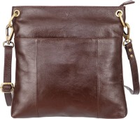 Klasse Women Brown Genuine Leather Sling Bag