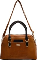 JFL-Jewellery For Less Women Tan PU Shoulder Bag