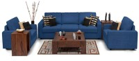 View Dream Furniture Fabric 3 + 1 + 1 Blue Sofa Set(Configuration - Made from high quality material) Furniture (Dream Furniture)