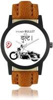 SATNAM FASHION Men's Analogue Black & White Bulet Designer Dial Watch WF-06 Watch  - For Men