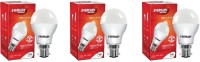 Eveready 7 W Standard B22 LED Bulb(White, Pack of 3)