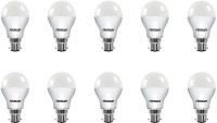Eveready 9 W Globe B22 LED Bulb(White, Pack of 10)