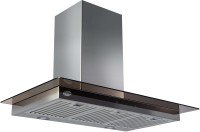 GLEN Cooker Hood 6062 TS 90cm 1250m3 BF LTW Wall Mounted Chimney(Sliver 1250)
