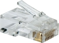 View BalRama 1000pcs RJ45 Connectors Modular 8 Pin Network Cable Plugs RJ-45 Adapter for Cat5 Cat5e Cat6 Rj 45 Ethernet Cable Plugs Heads Crimper Networking Combo Set Laptop Accessories Price Online(BalRama)