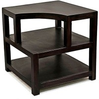 View Ikiriya Solid Wood Bedside Table(Finish Color - TEAK) Furniture (Ikiriya)