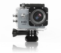 View TruOm HD 1080p SPORTS CAM(HD) Sports and Action Camera(Silver 1080 MP)  Price Online