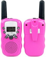 View ShopyBucket Walkie Talkie Set-3 Walkie Talkie Set-3 Walkie Talkie(Pink) Home Appliances Price Online(ShopyBucket)