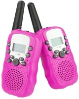 View ShopyBucket New generation Portable Walkie Talkie p1 Walkie Talkie Set-2 Walkie Talkie(Pink) Home Appliances Price Online(ShopyBucket)