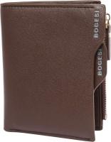 Bogesi Men Brown Artificial Leather Wallet(9 Card Slots)
