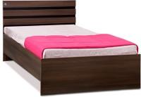 View Delite Kom Cocoa Engineered Wood Single Bed(Finish Color -  Black & Acacia Dark Matt Finish) Furniture (Delite Kom)