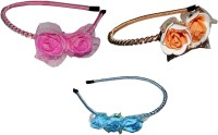 Vatsalya Creation Combo of Multi Color Metal Hairbands Hair Band(Multicolor) - Price 450 77 % Off