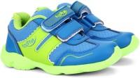 Footfun by Liberty Boys Velcro Moccasins(Green)
