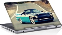 View Shopmania Blue Car on road Vinyl Laptop Decal 15.6 Laptop Accessories Price Online(Shopmania)
