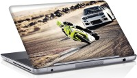 View Shopmania Racing Bike Vinyl Laptop Decal 15.6 Laptop Accessories Price Online(Shopmania)