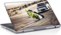 View Shopmania Racing Bike Vinyl Laptop Decal 15.6 Laptop Accessories Price Online(Shopmania)
